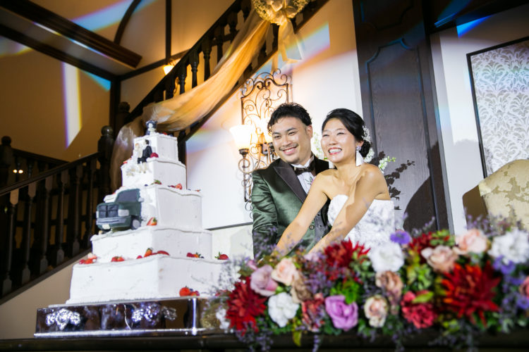 ご飯とお酒が美味しい!明るく楽しい結婚式!